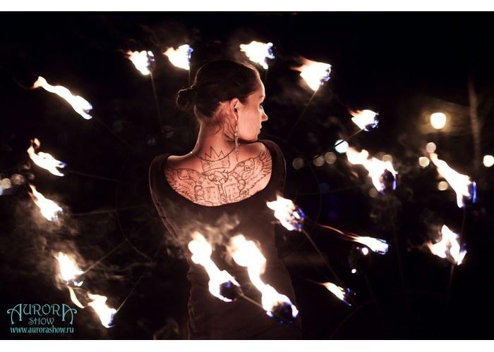 Огненное шоу на свадьбу новосибирск